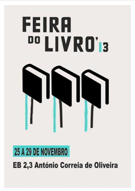 feira do livro cartaz